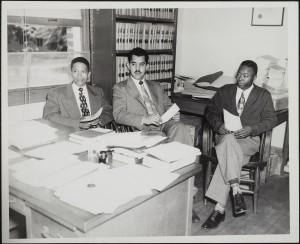 Beech, Lee and Lassiter in Chancellor House's office.House's office.