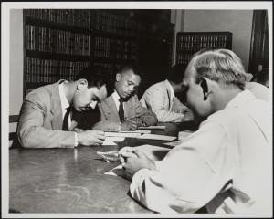 Beech and Lee complete registration, 11 June 1951.