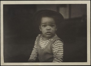 Lee as a young child.
