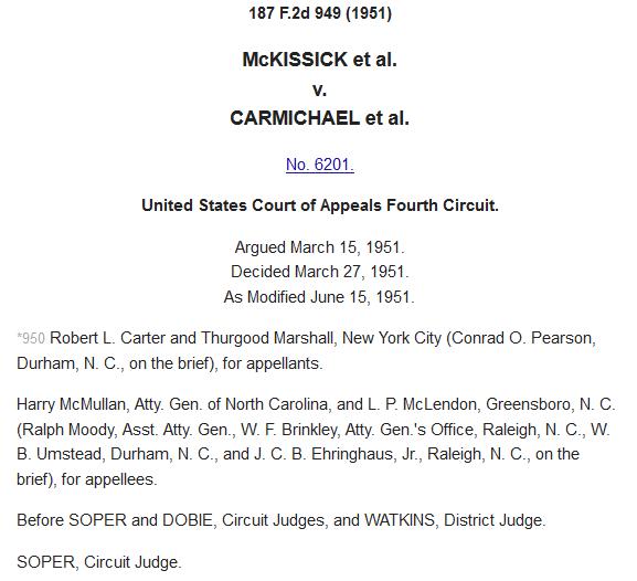 Fourth Circuit court decision reversing district court